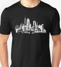 Camiseta unisex NYC Landmarks by Tai's Tees