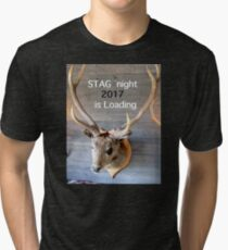 Stag night 2017 is loading Tri-blend T-Shirt