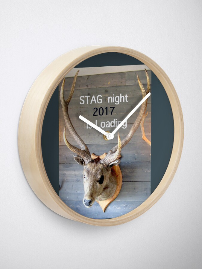 Alternate view of Stag night 2017 is loading Clock