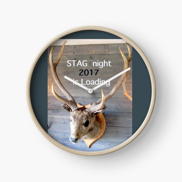 Stag night 2017 is loading Clock