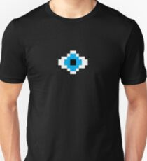 Pixel Eyed Blue T-Shirt