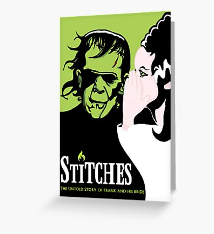 Stitches Greeting Card