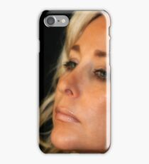 Portrait Young Woman iPhone Case/Skin