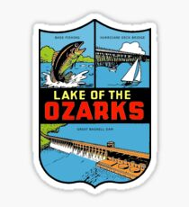 Lake of the Ozarks Vintage Travel Decal Sticker