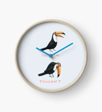 Toucan Toucan't Clock
