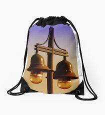 Street Lamps Drawstring Bag