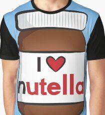 I <3 Nutella Graphic T-Shirt
