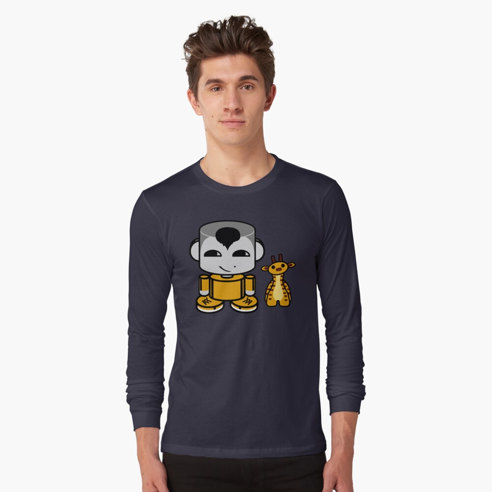Ziha'o O'BABYBOT Toy Robot 1.0 Long Sleeve T-Shirt