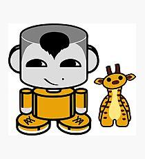 Ziha'o O'BABYBOT Toy Robot 1.0 Photographic Print