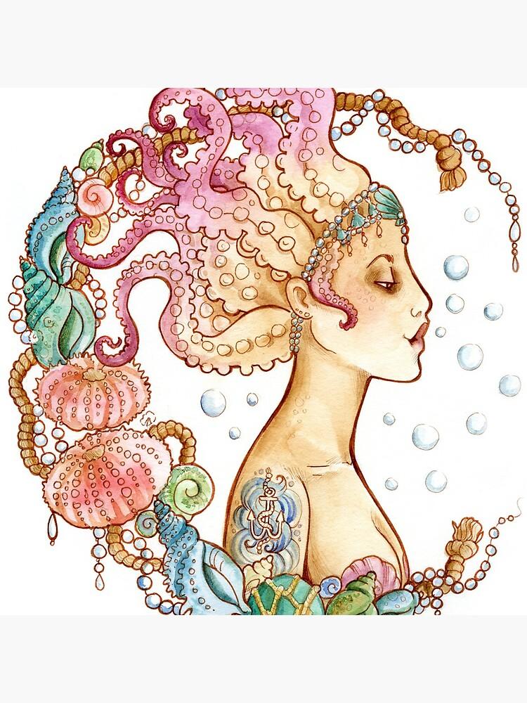 Octopus Mermaid by CharlotteArt