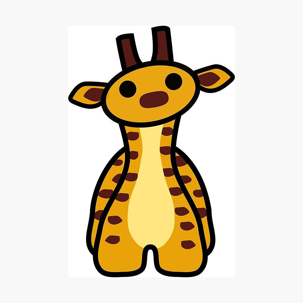 Fizz the Giraffe Photographic Print