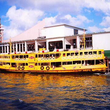 Hong Kong Ferry - August 2002 by PaulK