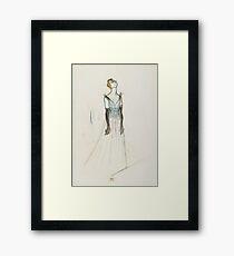 Henri De Toulouse Lautrec - Yvette Guilbert Framed Print