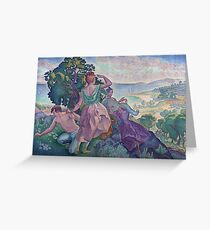 Henri Edmond Cross - Excursion Greeting Card