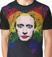 Gay Clown Putin Graphic T-Shirt
