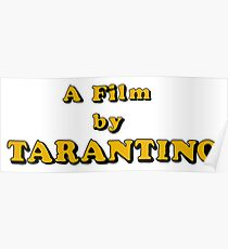 Film By Tarantino Poster