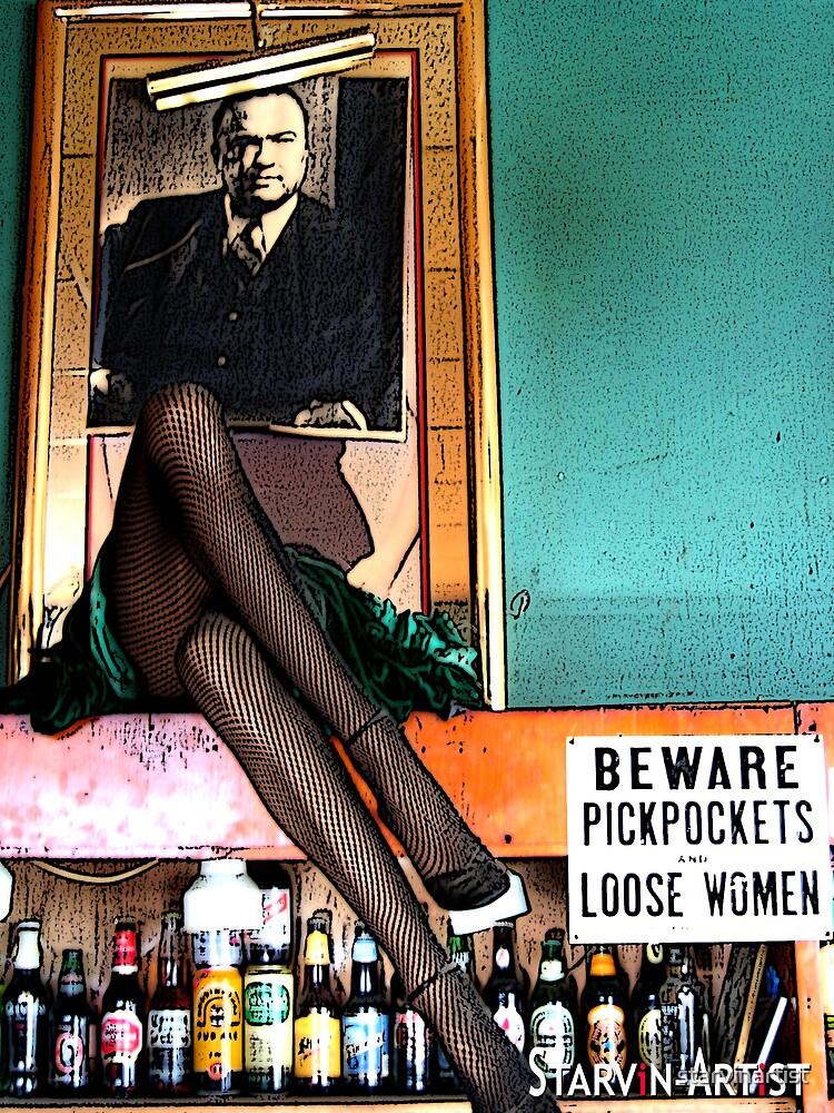 Mag Bar - Louisville - by starvinartist