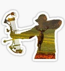 Deer Hunter - Bow Hunter Sticker