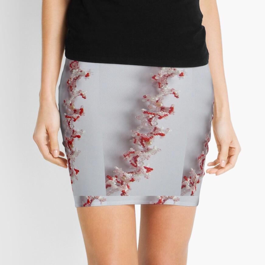 Corals Mini Skirt