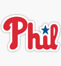 Phillies for Phil Sticker