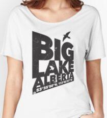 Big Lake, Alberta Women's Relaxed Fit T-Shirt