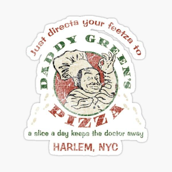 Daddy Green's Pizza Sticker