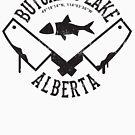 Butchers Lake, Alberta by Christy Forsythe