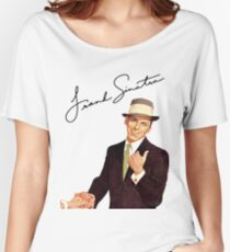 Frank Sinatra-Come Fly With Me Women's Relaxed Fit T-Shirt