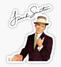 Frank Sinatra-Come Fly With Me Sticker