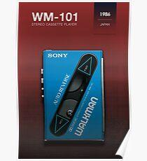 Sony Walkman - WM-101 Poster