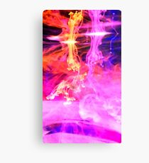 Water Explosions Canvas Print