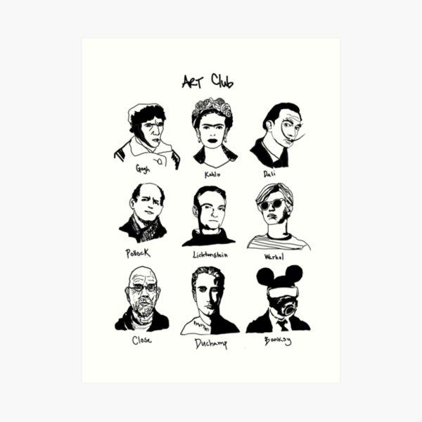 Art Club Extra Art Print