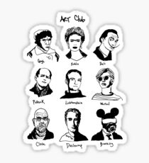 Art Club Extra Sticker