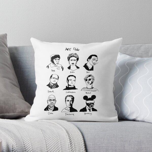 Art Club Extra Throw Pillow