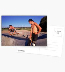 Skaters Postcards
