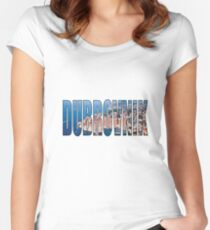 Dubrovnik Women's Fitted Scoop T-Shirt
