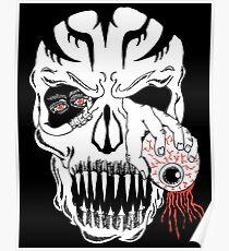 Skeleton Skull Poster
