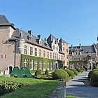 Courtyard of Kasteel Van Gaasbeek by Graeme  Hyde