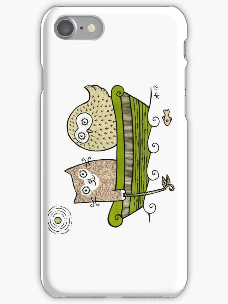 Pea Green Boat by Anita Inverarity