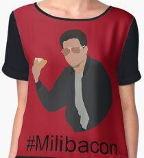 #Milibacon Women's Chiffon Top