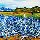 Blue Agave by WhiteDove Studio kj gordon
