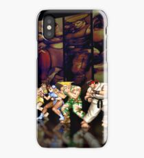 Street Fighter II pixel art iPhone Case/Skin