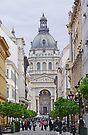 Down Zrinyi Utca to St Stephen's Basilica by Graeme  Hyde