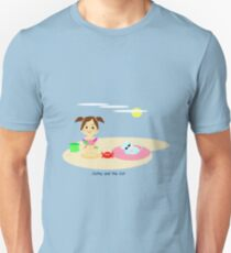Cathy and the Cat have a new friend Unisex T-Shirt
