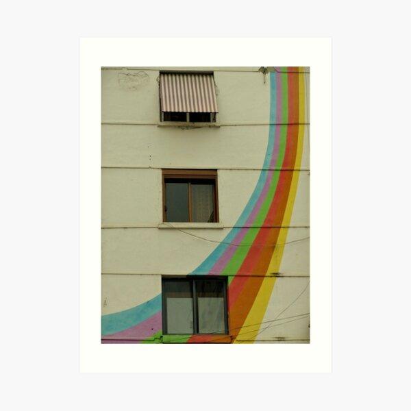 Tirana, Albania Art Print