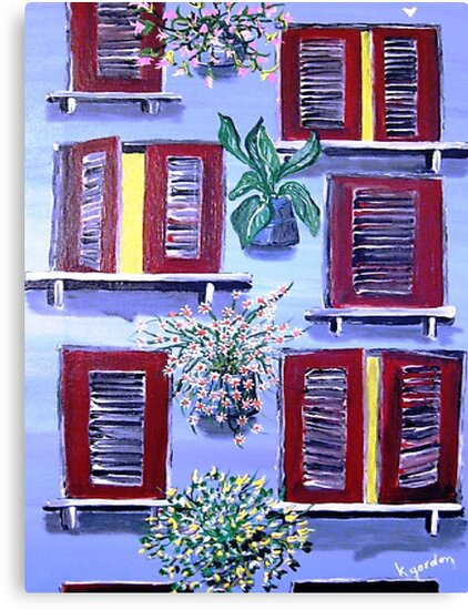 Light in The Window by WhiteDove Studio kj gordon