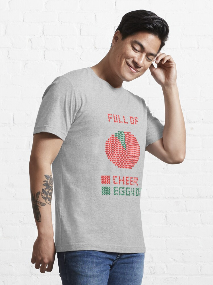 Alternate view of Pie Chart Ugly Sweater Design Essential T-Shirt