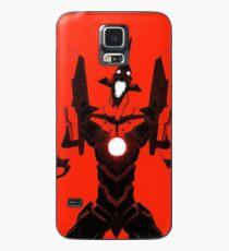 Funda/vinilo para Samsung Galaxy Evangelion Unit-01 - Rojo