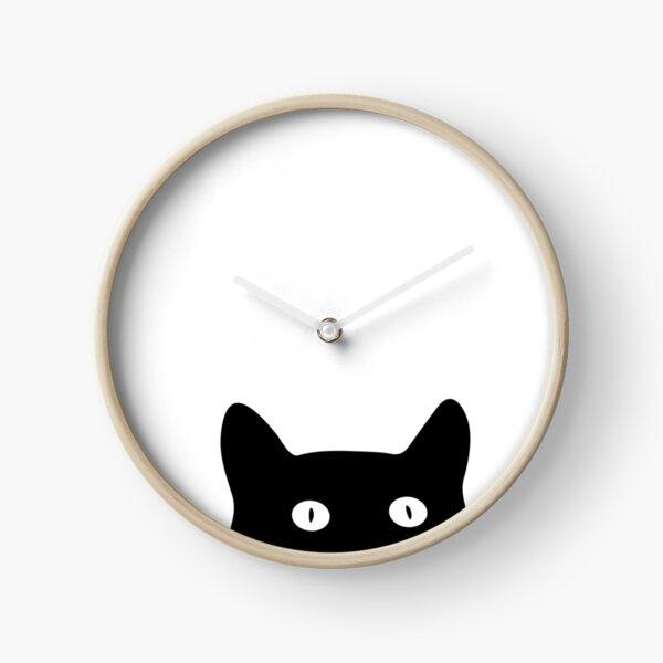 Sneaky Cat Clock
