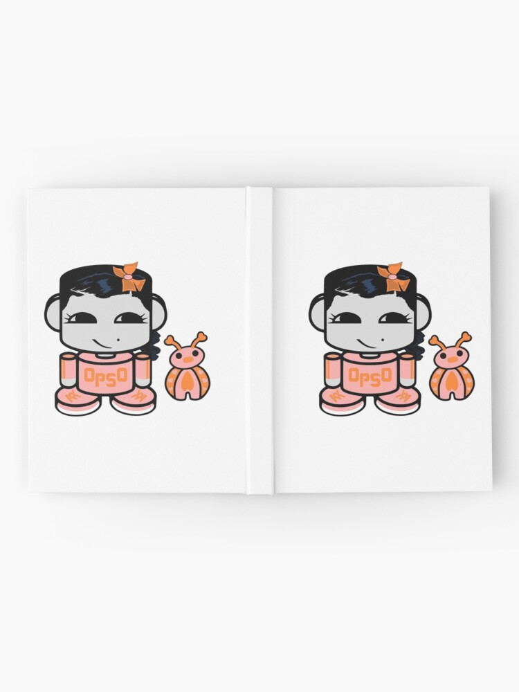 Alternate view of Opso Yo O'BABYBOT (and Epo) Hardcover Journal